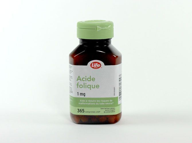 LIFE Acide folique (Pharmaprix)   Protégez-Vous.ca