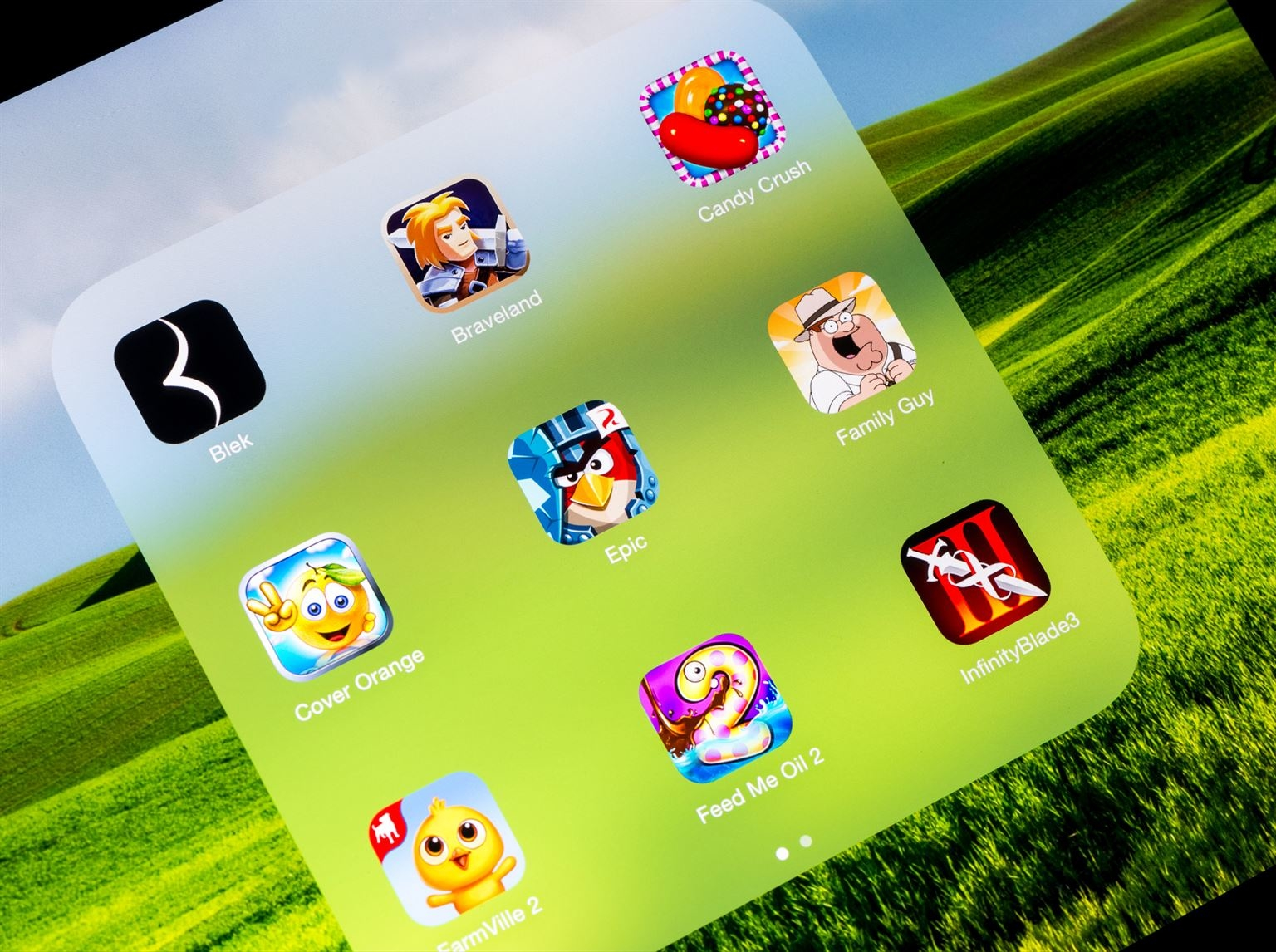 Jeux gratuit pour tablette apple