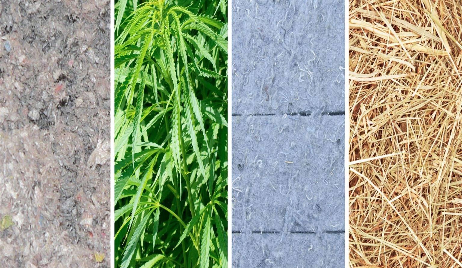 Isolants verts pour la maison: cellulose, chanvre, coton ou paille ?