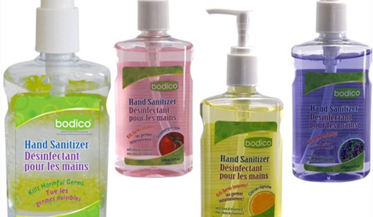 Desinfectant pour les mains attention au risque dintoxication