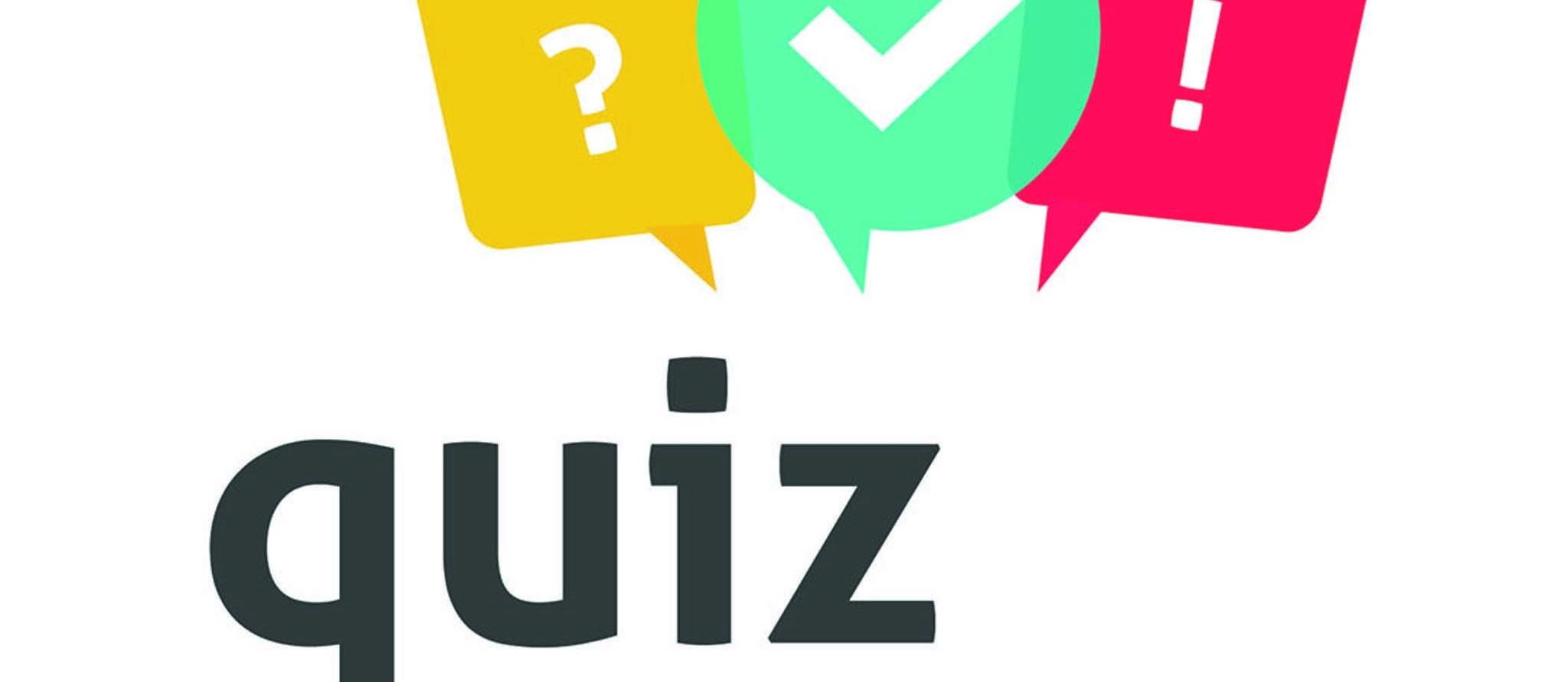 Page thématique - Quiz