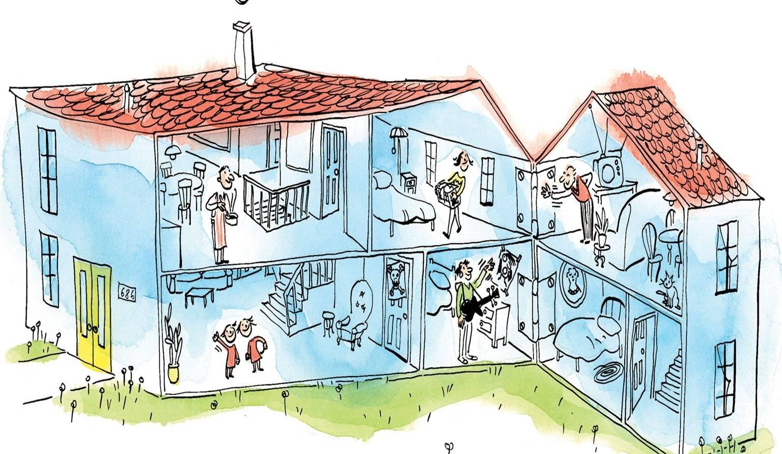 Maison intergenerationnelle