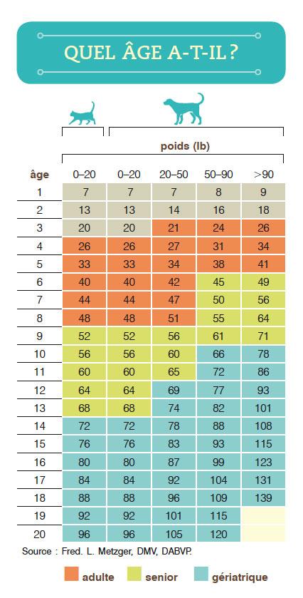 Quel âge a votre chat ou votre chien? | Protégez-Vous.ca
