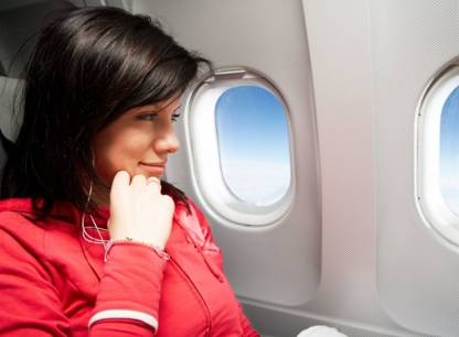 Les 4 principaux risques pour la santé en avion