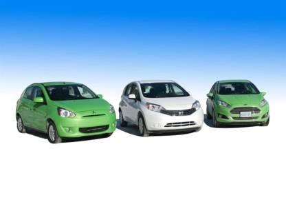 Essai comparatif - trois sous-compactes Versa Note, Mirage et Fiesta