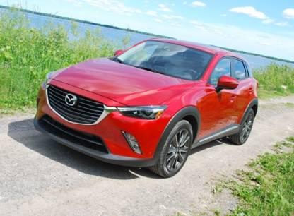 Essai - Mazda CX-3 2016, futur roi des petits VUS