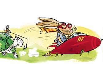 Acces haute vitesse en region