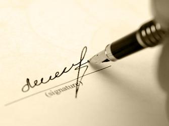 La redaction d un testament