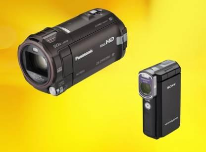 Test - Caméras vidéo classiques et cameras video de poche (Camescopes)