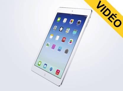 Comparatif video iPad Air vs iPad mini avec ecran Retina