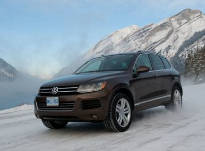 Volkswagen Touareg 2011 (Photo: Volkswagen)