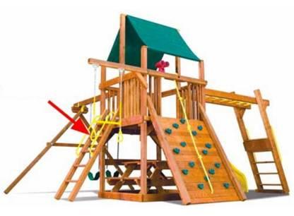 Structures de jeux extérieurs: rappel en raison d'un risque de chute