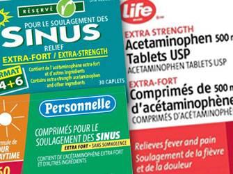 Rappel de 241 000 médicaments vendus sans ordonnance