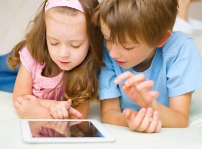Test - Applications enfants - Contenu virtuel frais bien reels
