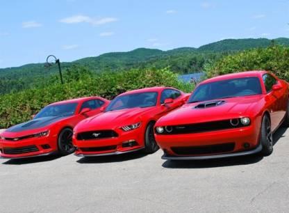 Essai - Dodge Challenger, Ford Mustang, Chevrolet Camaro: trois sportives rétro et musclées