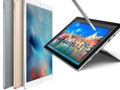 iPad Pro contre Surface Pro 4