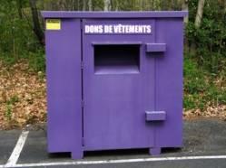 boites dons vetements