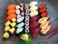 Les sushis: un repas santé?