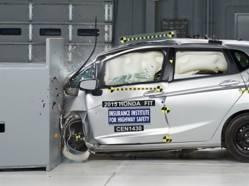 Sécurité: la Honda Fit a fait ses devoirs
