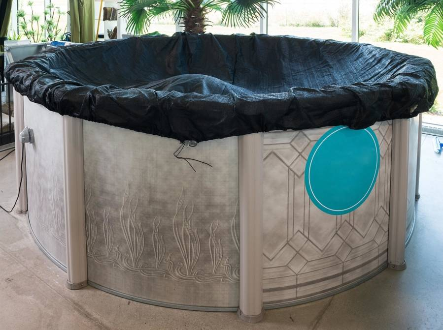 Pr parer sa piscine pour l 39 hiver en 5 tapes prot gez for Chauffe eau solaire pour piscine hors terre