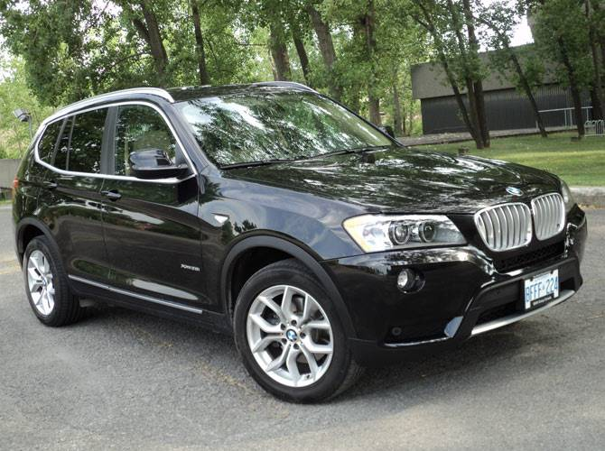 bmw x3 2012 au sommet de son art prot gez. Black Bedroom Furniture Sets. Home Design Ideas