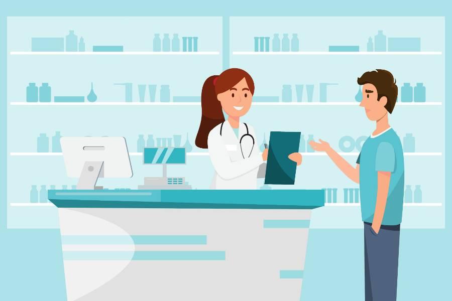 pharmacienne-client-illustration