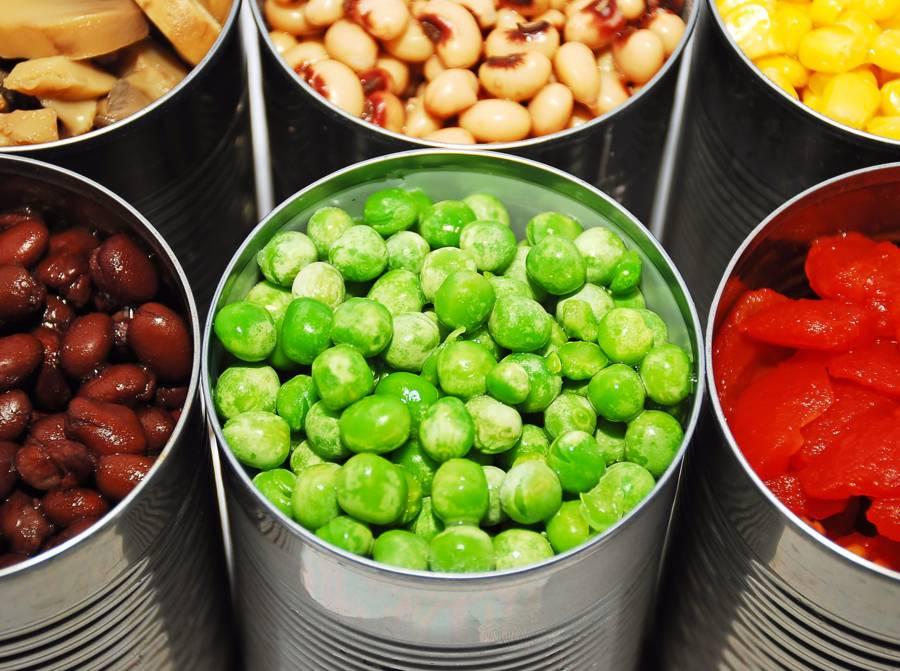 Comment s'alimenter pendant cette « Quatorzaine » forcée ?  Legumes-conserves