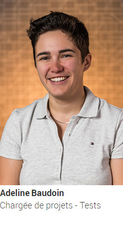 BAUDOIN Adeline, chargée de projets - Tests