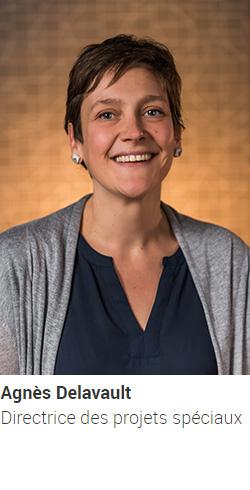 DELAVAULT Agnès, directrice des projets spéciaux