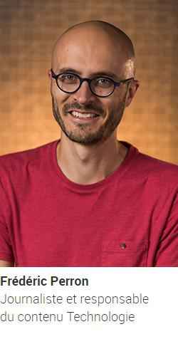 PERRON Frédéric, journaliste et responsable du contenu Technologie