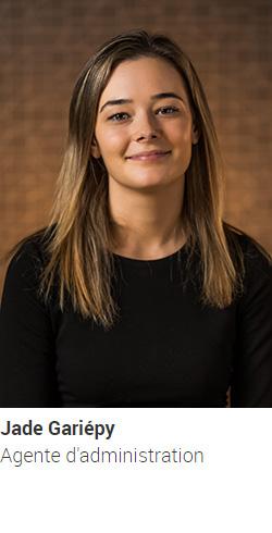 GARIÉPY Jade - agente d'administration