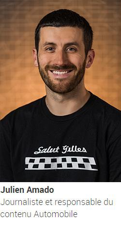AMADO Julien, journaliste et responsable du contenu Automobile
