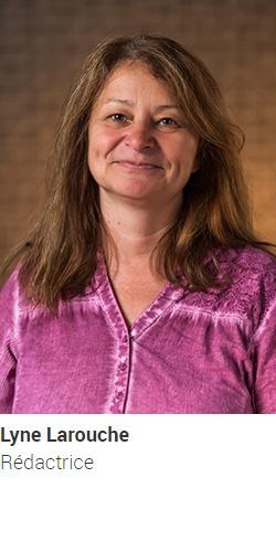 LAROUCHE Lyne, rédactrice