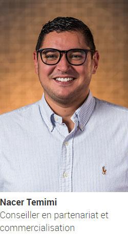 TEMIMI Nacer, conseiller en partenariat et commercialisation