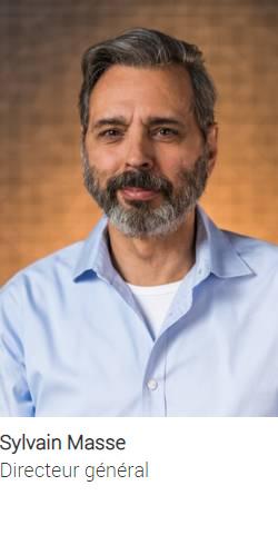 Directeur général : Sylvain Masse