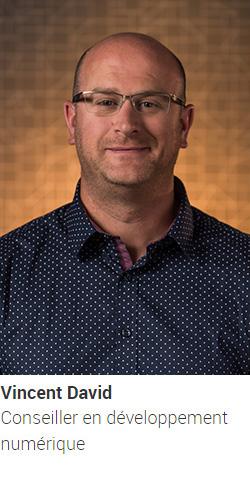 DAVID Vincent, conseiller en développement numérique