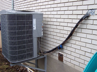 Appareils de chauffage et de climatisation mises en for Appareil de climatisation maison