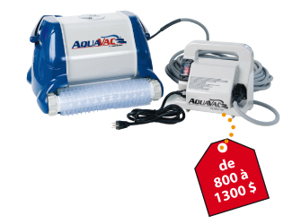 Filtration et temp rature de l 39 eau prot gez for Balayeuse robot piscine